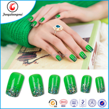 fengshangmei new 2016 acrylic nails black tips