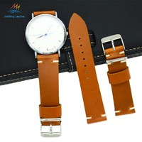 Vintage Retro Style Watch Strap Band Cowhide leather watch strap