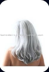 Indian gray hair