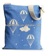 Parachute Print Blue Sling Bag for Teenagers