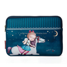 Sofia's Love 7'' tablet sleeve neoprene case laptop bag with zipper
