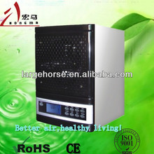Home air purifier with ionizer and negative ion generator