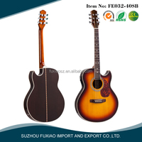 2016 fashion thin acoustic guitar electric