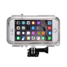 "Shockproof IP68 Underwater Extreme Sports Waterproof Diving Case for iPhone 4.0""/4.7""/5.5"" inches"