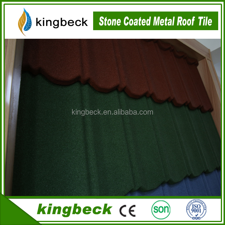 classic stone coated metal roof tile metal and steel tile roofing