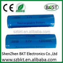 3.7v 4.44wh battery 3.7v 18650 1200mah li ion battery