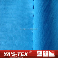 High Quality Water Resistant Solid Color Nylon Stretch Embossed Fabric For Women Dress
