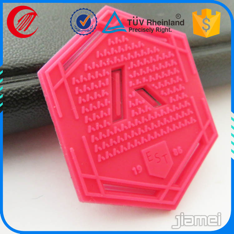 Machine made rubber silicone 3d print heat transfer labels