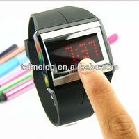 TM-1378 silicon watch 2013 latest and hot products Mode Set LED Watch