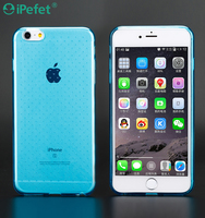 On line Wholesale Shop cheap Custom blu phone case colorful TPU back cover for iPhone 6 Plus