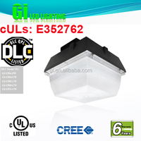 2014 china new innovative product DLC UL CUL listed IP65 led canopy gas station light