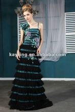 one shoulder stripe evening dress chic evening party dress for veiled 5518