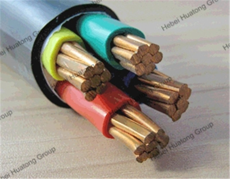 0.6/1kv 4 core 35mm2 pvc insulated and sheathed electric copper cable