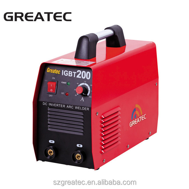 IGBT 200 amp inverter portable welding machine set
