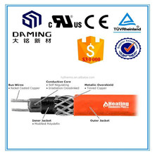 Similar to raychem heating cable self-regulating