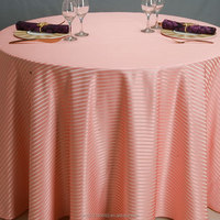 Colorful tablecover Wedding supplies round table cloth pink table cover