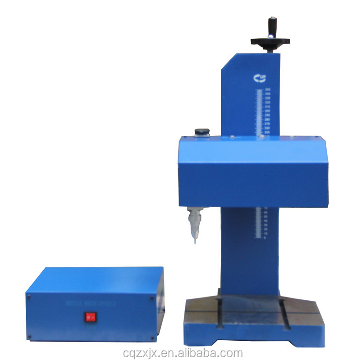 zixu Free Shipping Marking Machine Desktop CNC Pneumatic Dot Peen Metal Nameplate Marking Machines with Thorx6 controller