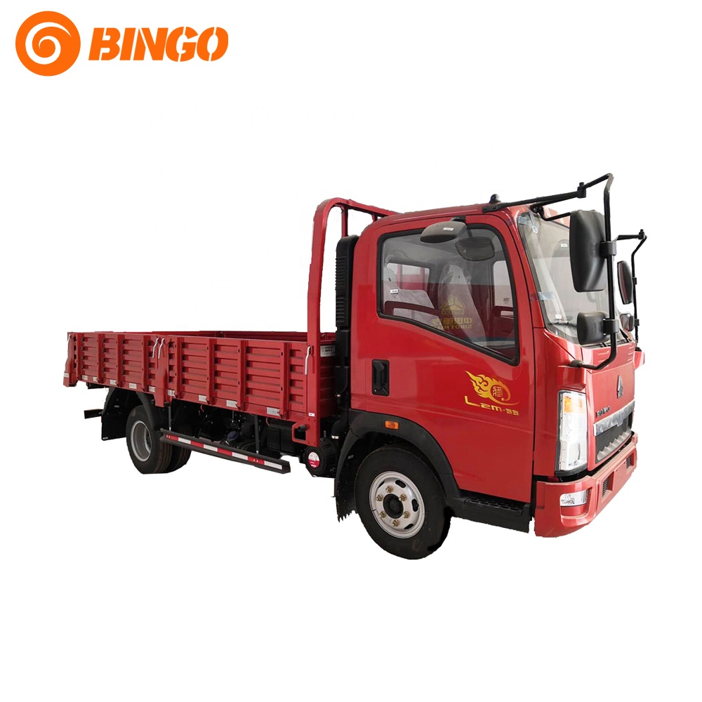 Manufacturer Sinotruk Howo 4x2 Light Cargo <strong>Truck</strong> 85KW