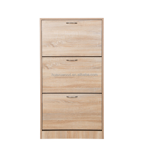 HXLSC-002 New stylish shoe cabinet with 3 doors