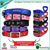 Best selling dog products nylon adjustable dog collar and leash set for medium dogs