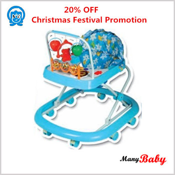 environmental material best price& fashionable unique design new baby walker with music and toy