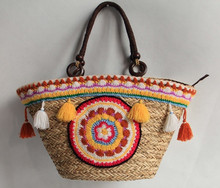 Ladies Straw Woven Tote Bag, Women Gift