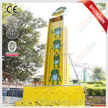 Luna park adults ride top thrilling games free fall tower ride for sale