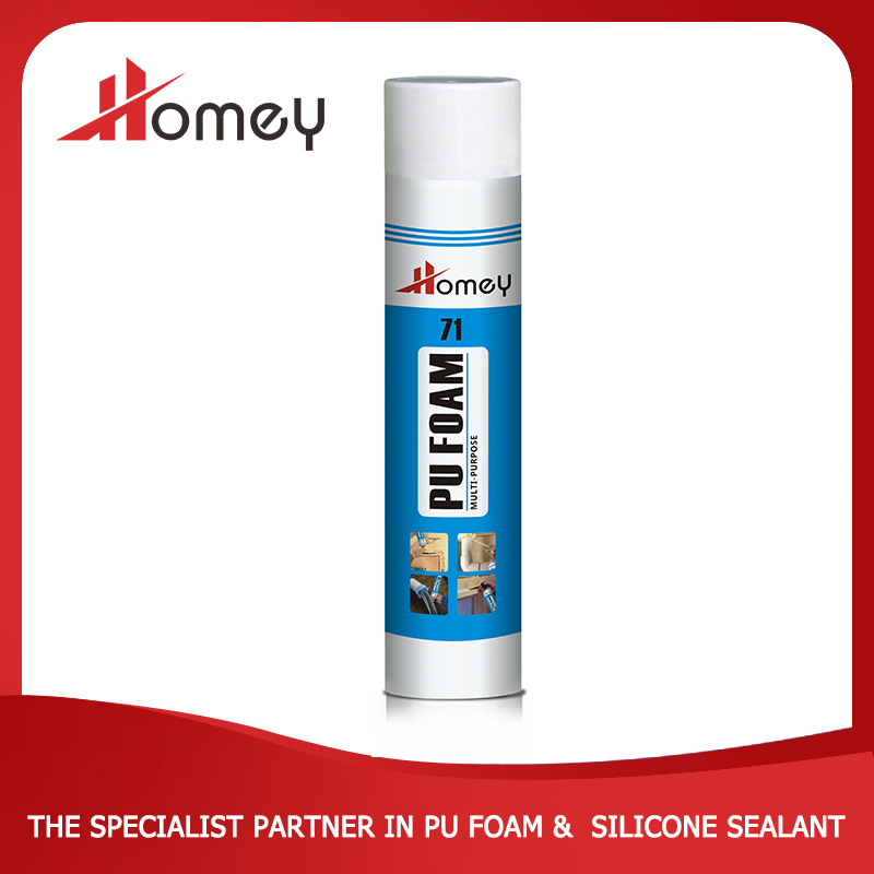 Homey 71 thick high density expanding pu foam,adhesives and glues
