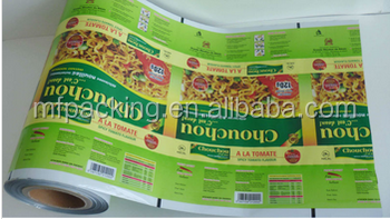 food packaging plastic roll film protective spray plastic film