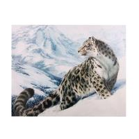 69x50cm Frameless HD Inkjet Canvas Painting Leopard Home Decorative Oil Painting Wall Art for Living Room Decor