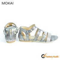 50S-12 silver modern lady sandal for 2015