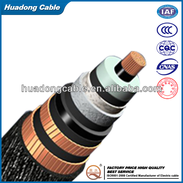 types of underground cables