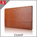 "High Quality 14 Inch Laptop Sleeve 14"" Leather Sleeve Laptop Case Pouch Cover Wholesale"