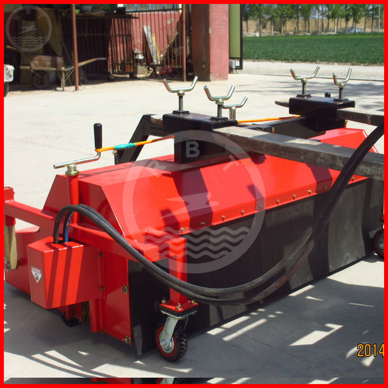 Hydraulic sweeper for forklift,sidewalk sweepers for sale