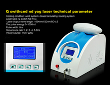 2016 Top sales diode laser tattoo removal machine nd yag laser tattoo removal machine for beauty salon DO-T01