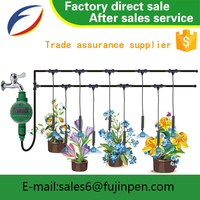 Agriculture sprinkler set and small greenhouse home and garden fogging irrigation system