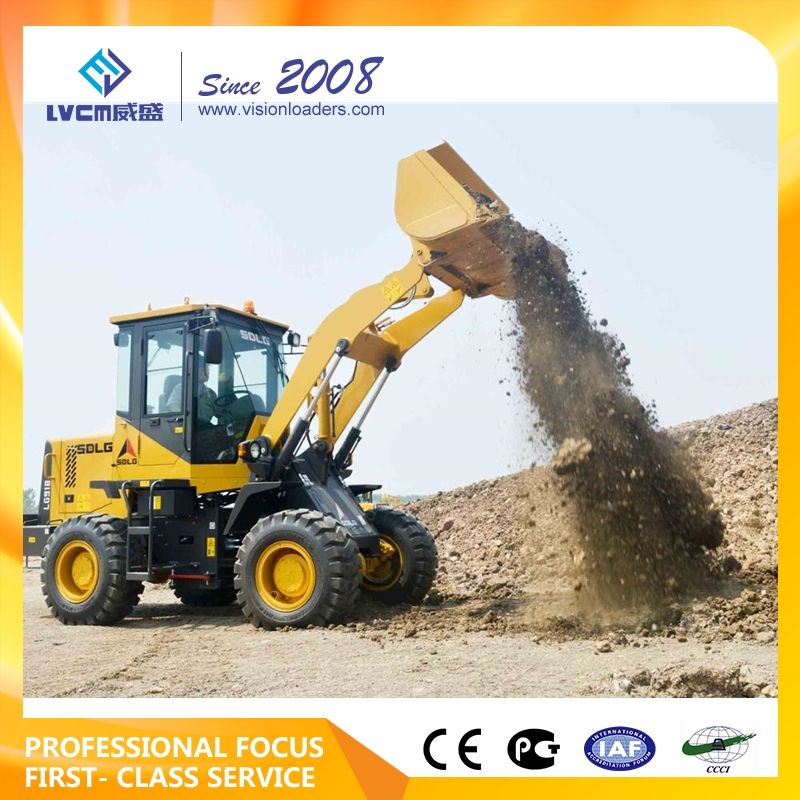 SDLG brand front loader for loading and unloading