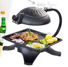 Commercial Gas 3D Infrared BBQ Grill Table Top Gas barbeque Grill