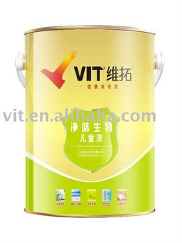 Interior wall paint/coating (special for children room decoration)