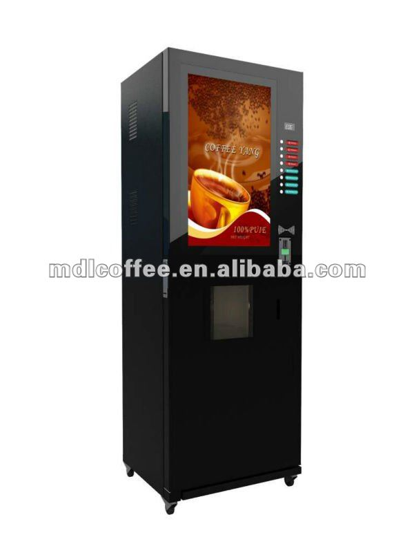 32inches LCD Display Vending Machine Coffee for Russia Market