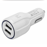 2016 new Rapid QC 3.0 2 USB ports 12v cellphone car charger