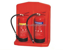 rotational mould double fire extinguisher stand
