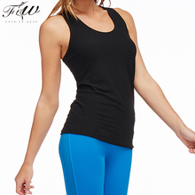 activewear quick Dry Heather Grey crossfit viscose wick moisture sports tank top without padding