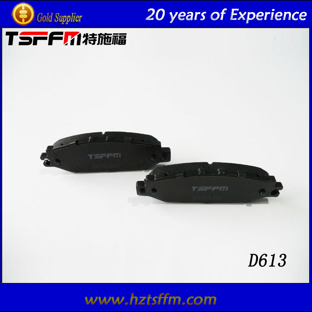 break pad brake parts with stable firction factor