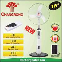 usha rechargeable fan stand fan with light battery