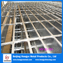 Hot Dipped Galvanized Serrated Steel Bar Grating/Railroad Steel Grating Price