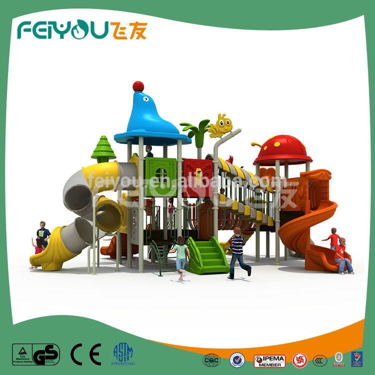 Feiyou Lovely Ce Approved Cheap Price Kids Plastic Playhouse Outdoor Playground Oem Provided