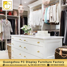 Modern nice selling retail clothes shop furniture clothing store display rack garment shop interior design