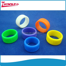 Customized printed silicone bracelet custom small rubber band