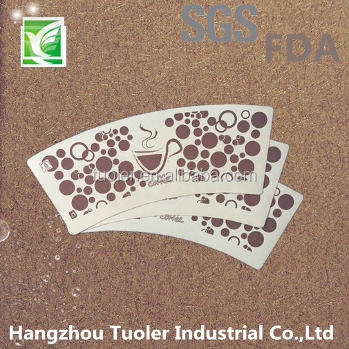 disposable printed coated art paper